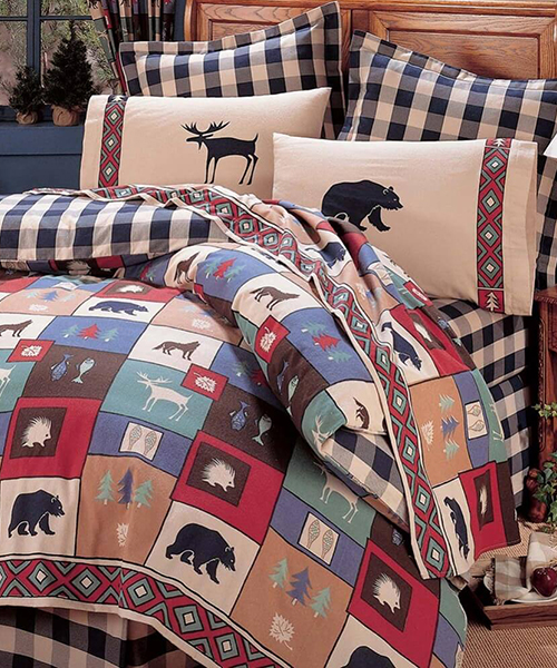 The Woods Cabin Bedding