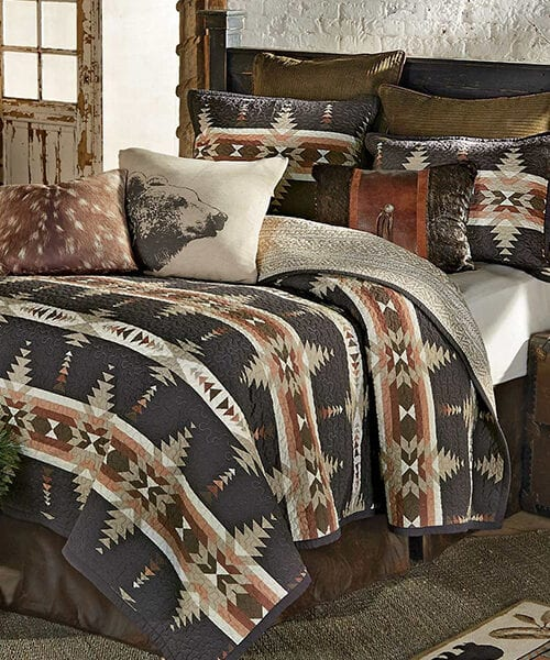 Durango Canyon Quilt Bedding | Rustic Quilts