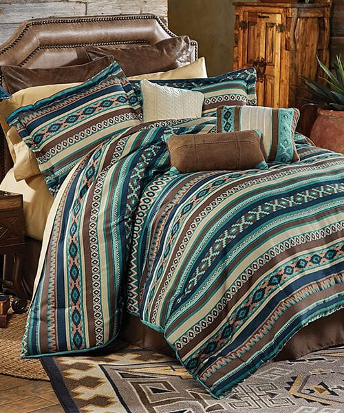 Turquoise Southwestern Bedding Collection