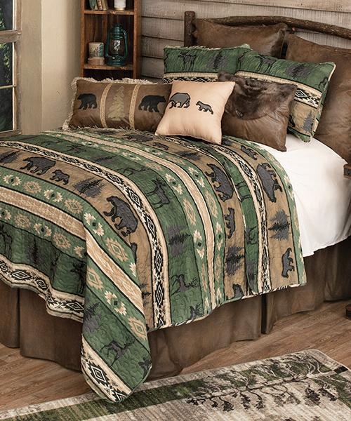 Mountain Wildlife Rustic Bedding