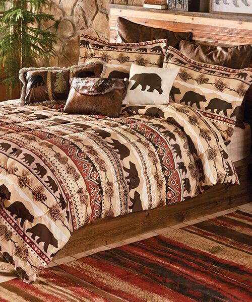 Mountainside Bear Bedding