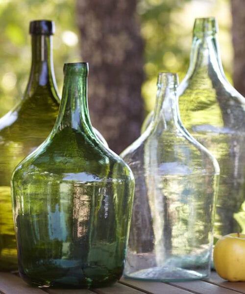 Rustic Wine Bottle Decor