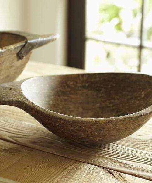Wood Dough Bowl