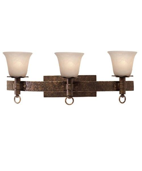 Rustic Americano Vanity Lighting