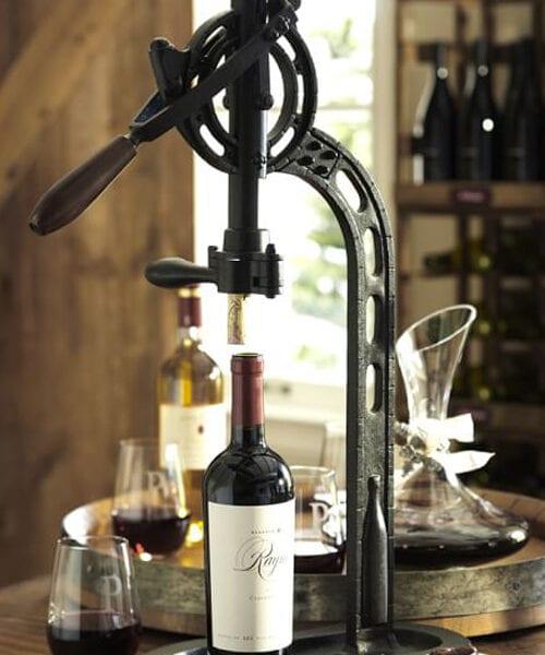 Rustic Standing Wine Opener