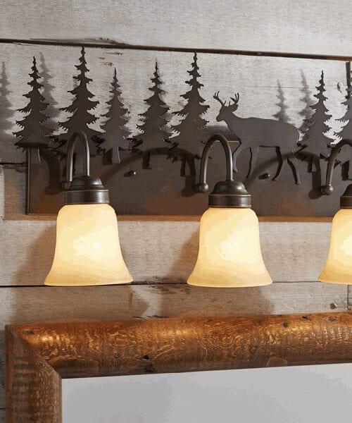 Rustic Vanity Light Fixtures