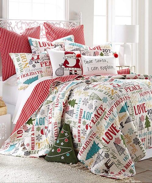 Kids Christmas Bedding