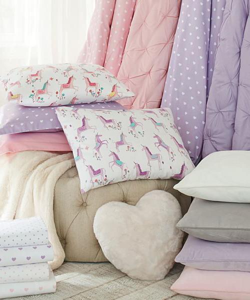 Audrey Girls Purple Bedding