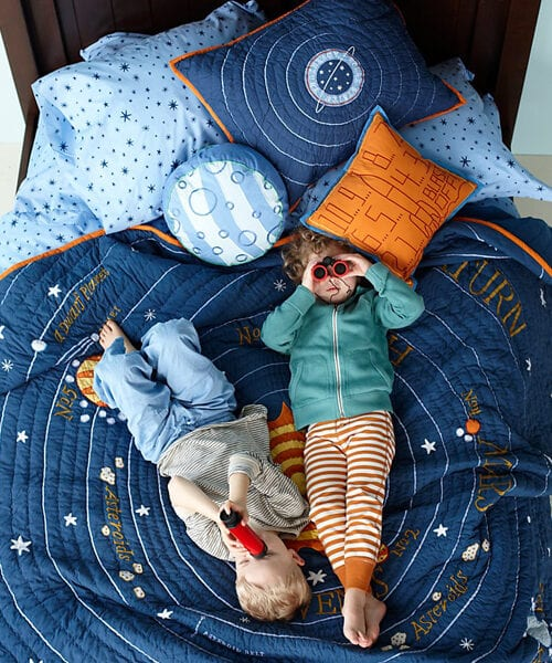 Kids Outerspace Bedding