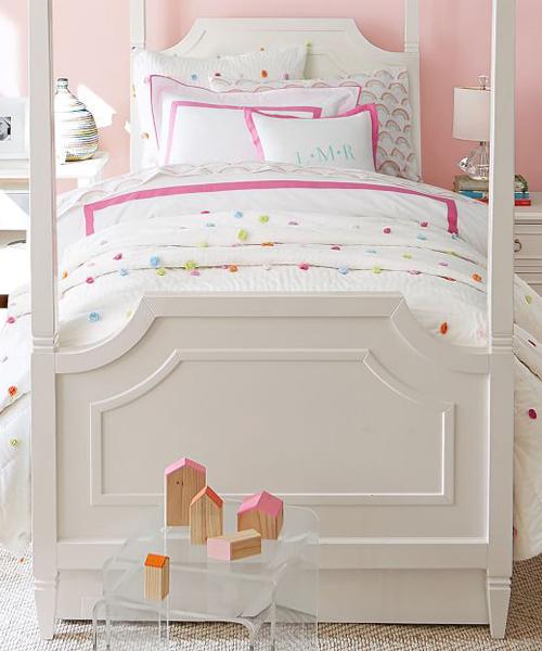Pom Pom Bright Girls Bedding