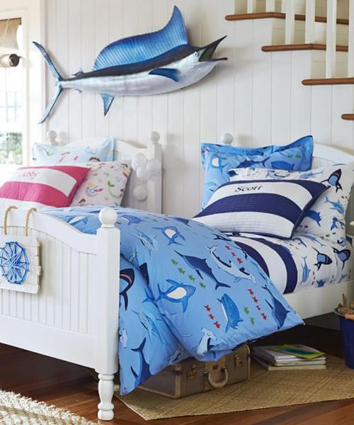 Boys Shark Bedding