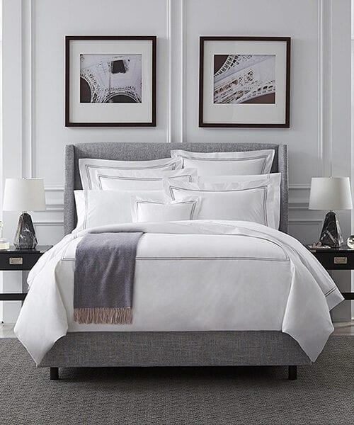 Sferra Luxury Hotel Bedding | Black & White Bedding