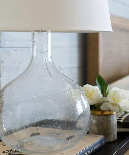 Eva Glass Table Lamp