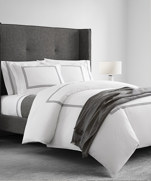 Black & White Duvet Cover