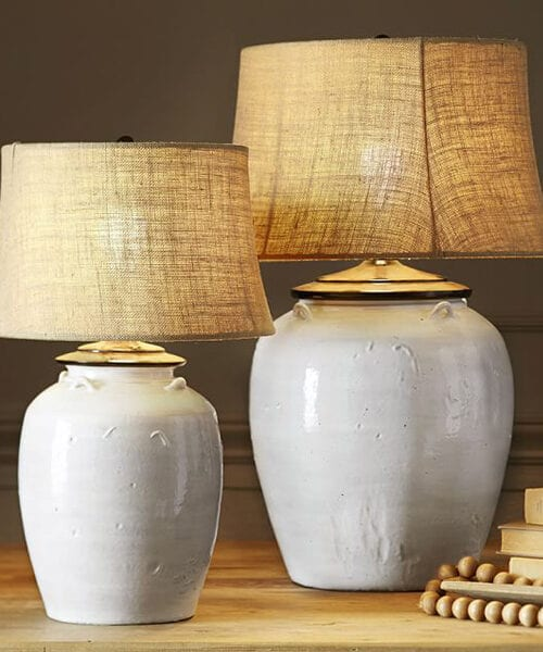 Courtney Ceramic Country Lamp