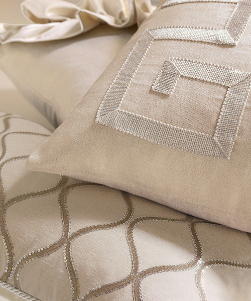 Glamorous Metallic Bedding | Eastern Accents Bardot Bedding