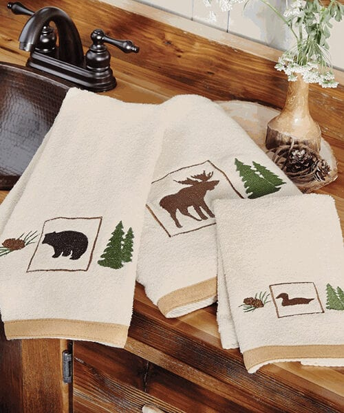 Forest Signs Towel Collection