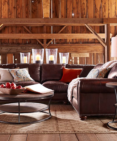 Leather Sectional Furniture