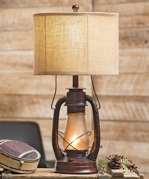 Rustic Vintage Lamp