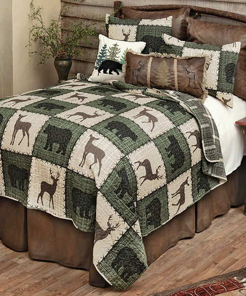 Rustic Woodland Bedding