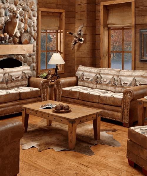 Alpine Lodge Sofa Collection