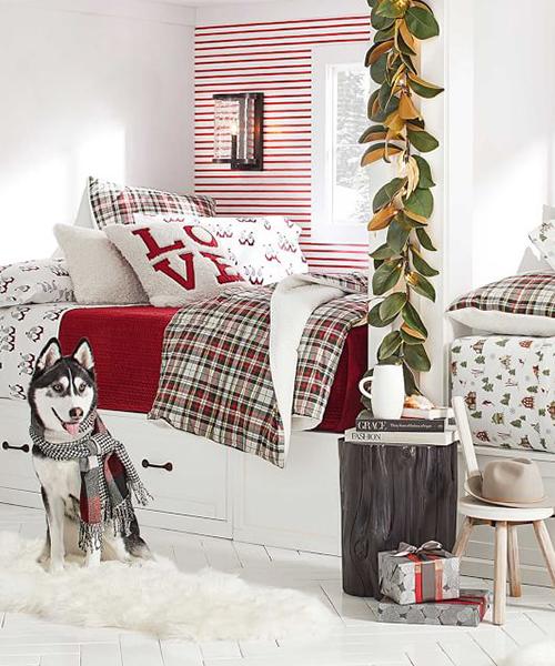 Denver Holiday Plaid Bedding