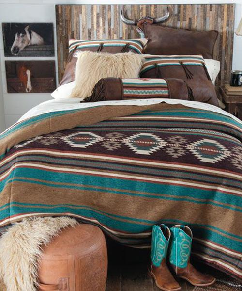 Southwestern Diamond Comforter