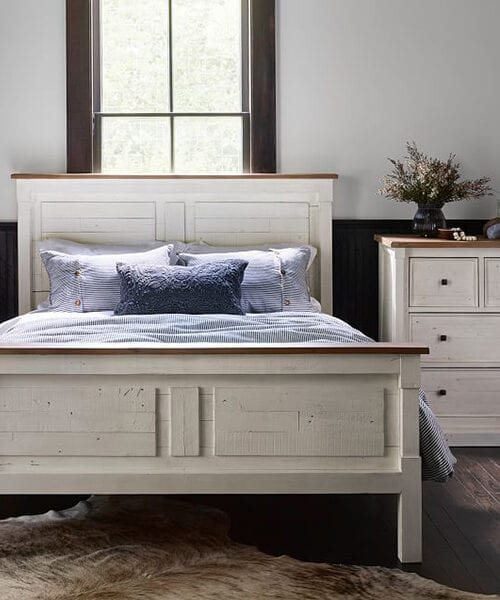 Hart Reclaimed Wood Bed