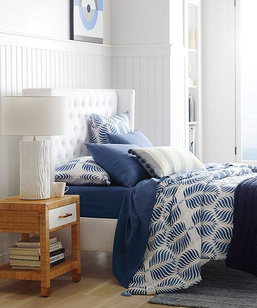 Granada French Blue Quilt