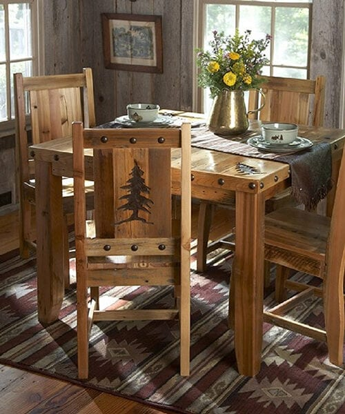 Barnwood Dining Table & Chairs