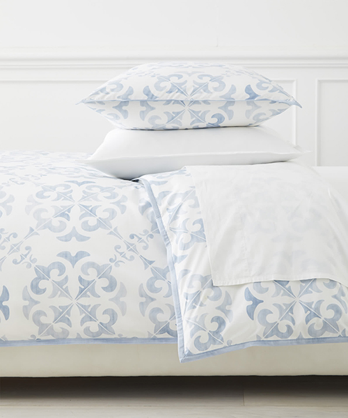 Blue Tilework Bedding | Wentworth Duvet Cover