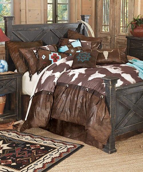 Rustic Reclaimed Barnwood Bed