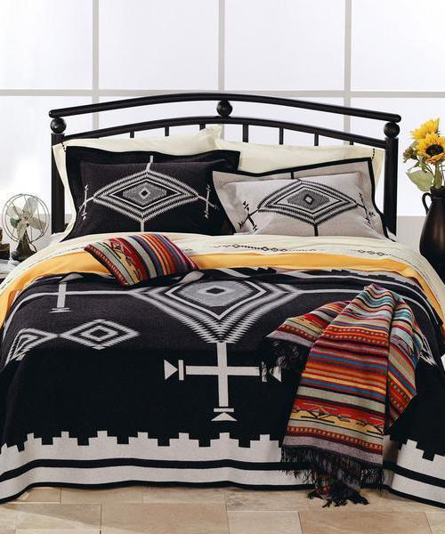 Pendleton Los Ojos Blanket   Southwestern Blankets