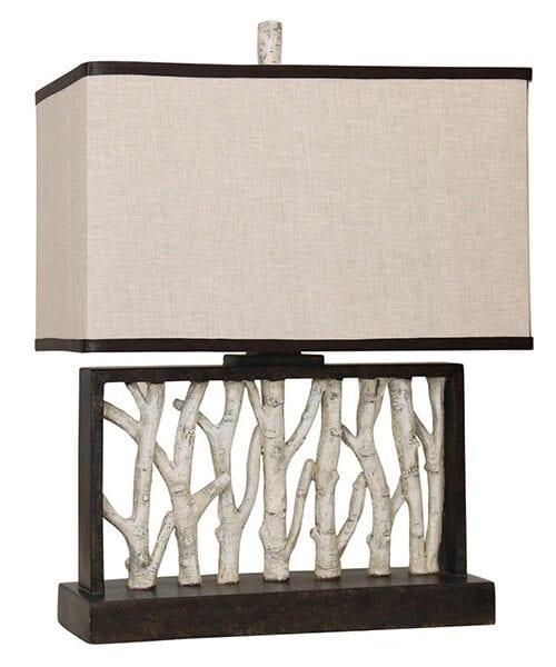 Birch Tree Lamp