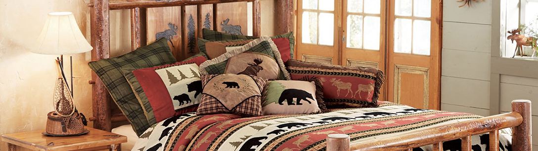 Cabin Decor, Cabin Bedrooms, Living Rooms & Dining Rooms