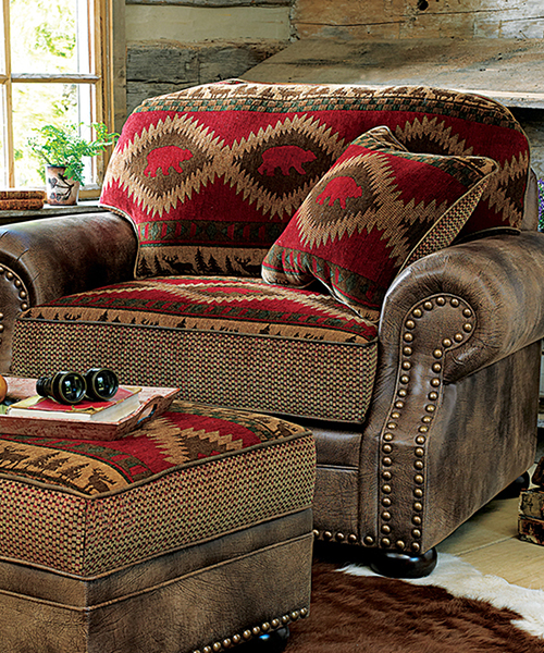 Northern Trails Rustic Living Room Chair