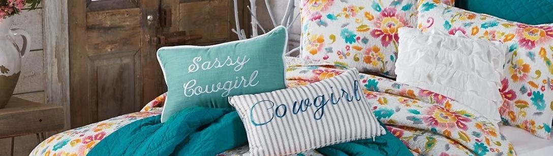 Cowgirl Bedding | Girls Horse Bedding
