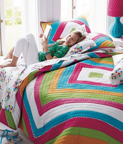 Girls Quilts & Comforters