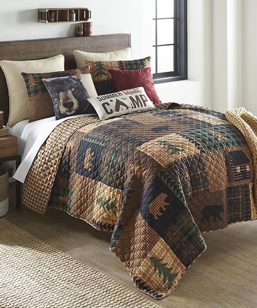 Bear Cabin Bedding