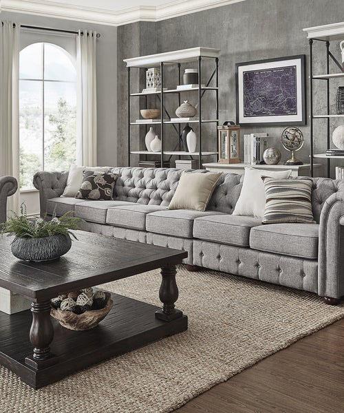 Farmhouse Grey Modular Sofa