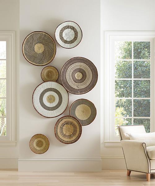 Del Sol Handwoven Wall Baskets