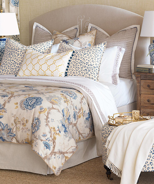 Eastern Accents Emory Floral Luxury Bedding