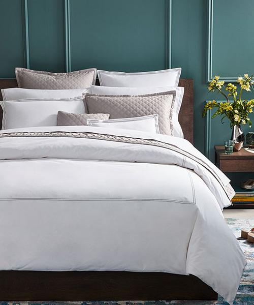 Hudson Park Italian Percale Bedding