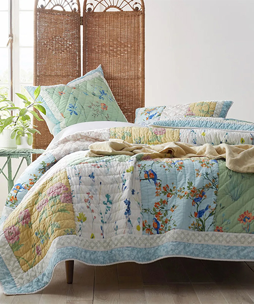 Amelie Artisan Handcrafted Quilt