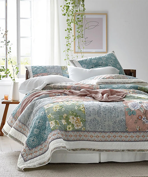 Ava Patch Handcrafted Quilt