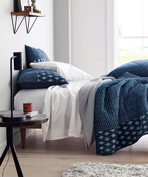 Blue Quilt Bedding