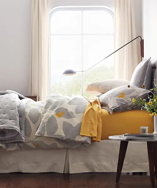 Floral Relaxed Abstract Duvet Cover