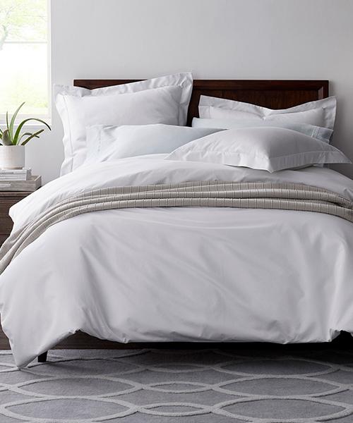 White Egyptian Cotton Duvet Cover
