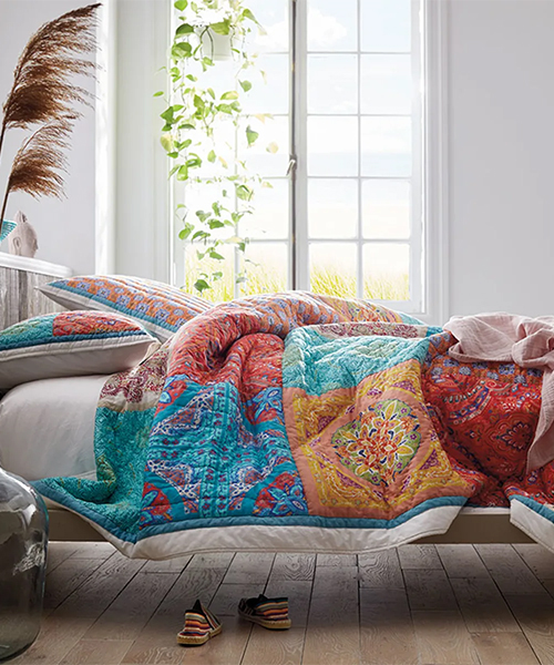 Lileth Handcrafted Cotton Quilt