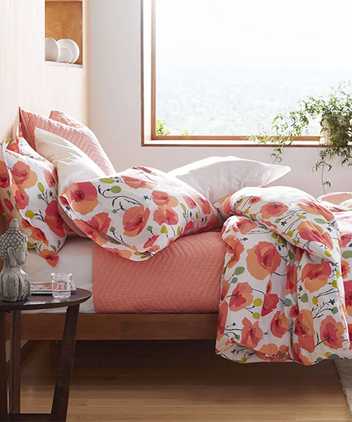 Floral Percale Bedding